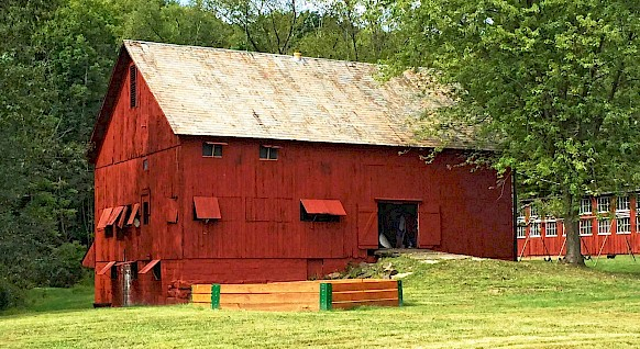 Our barn. Built in the 1890's