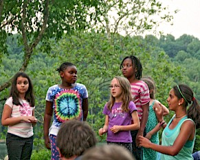 Summer camp sing-along!