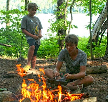S'mores - the best part of summer camp!